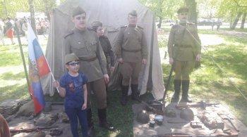 В районе Бирюлево Западное прошло мероприятие «Вахта памяти»