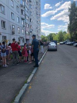 МЧС Москвы по ЮАО проводит сезонные инструктажи