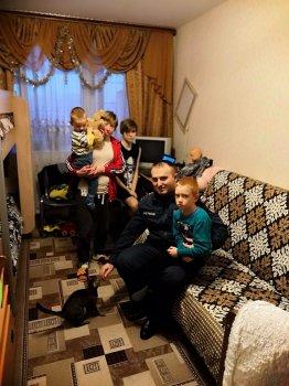 Пожарная безопасность мест проживания многодетных семей на особом контроле!