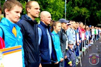 Команда МЧС Москвы приняла участие в легкоатлетических соревнованиях силовых ведомств