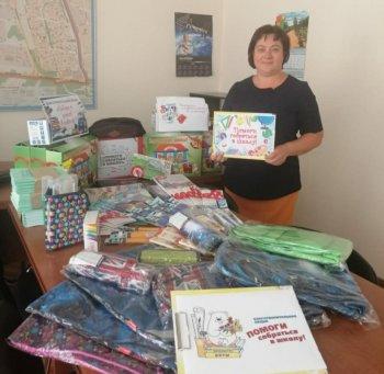 Депутаты поучаствовали в акции «Собери ребенка в школу»