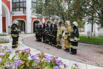 На территории Государственной Третьяковской галереи прошло плановое пожарно-тактическое учение