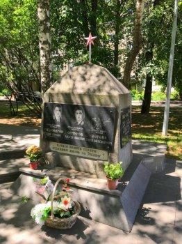 В День памяти и скорби сотрудники ГИБДД Южного округа столицы почтили память героев Великой Отечественной войны