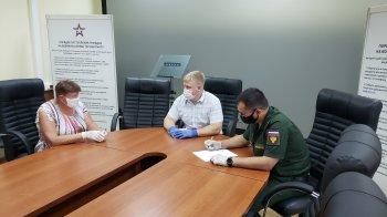 В военном комиссариате с привлечением офицеров военной прокуратуры проведен прием населения по вопросам призыва граждан на военную службу и иным вопросам