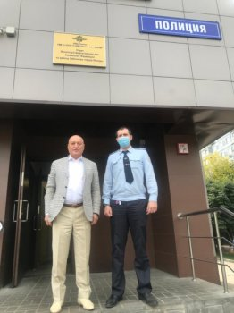 В рамках акции «Гражданский мониторинг» члены Общественного совета при УВД по ЮАО посетили территориальные отделы полиции