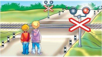 Детская безопасность на железной дороге