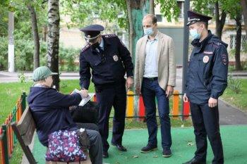 Член Общественного совета при УВД по ЮАО ГУ МВД России по г. Москве совместно с сотрудниками полиции принял участие в профилактике преступлений, совершаемых дистанционным способом